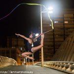Elena López Benaches, gimnasta olímpica, en Valencia. Fotografía de Archerphoto