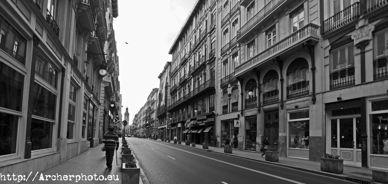Calle San Vicente,Carrer Sant Vicent,fotógrafo profesional Valencia