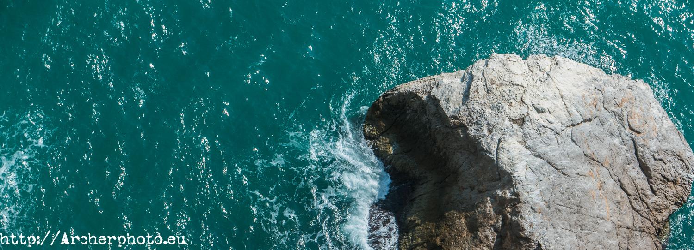 Peníscola, Peñíscola, rocas,plano cenital, fotógrafo profesional, Castellón