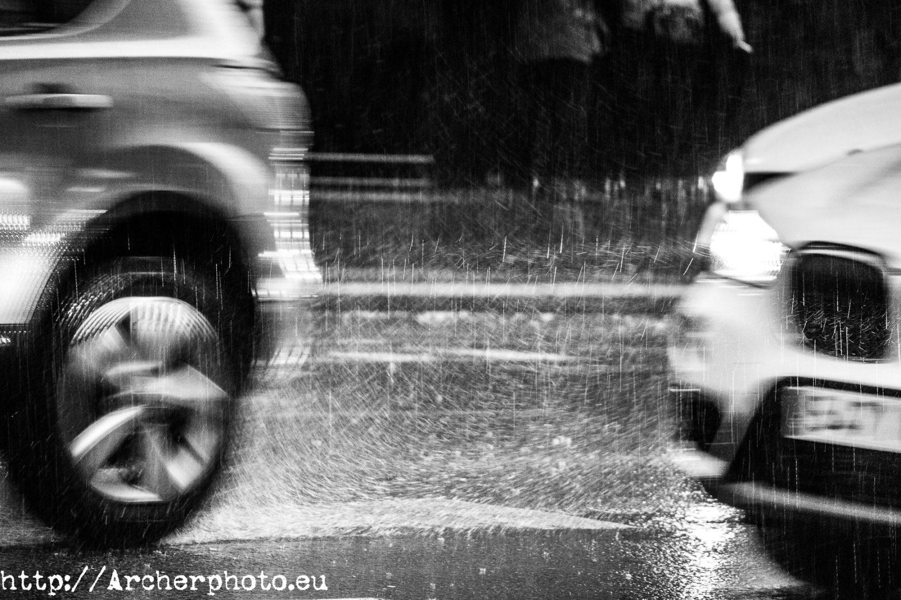 Llovió e hice una foto. Valencia.