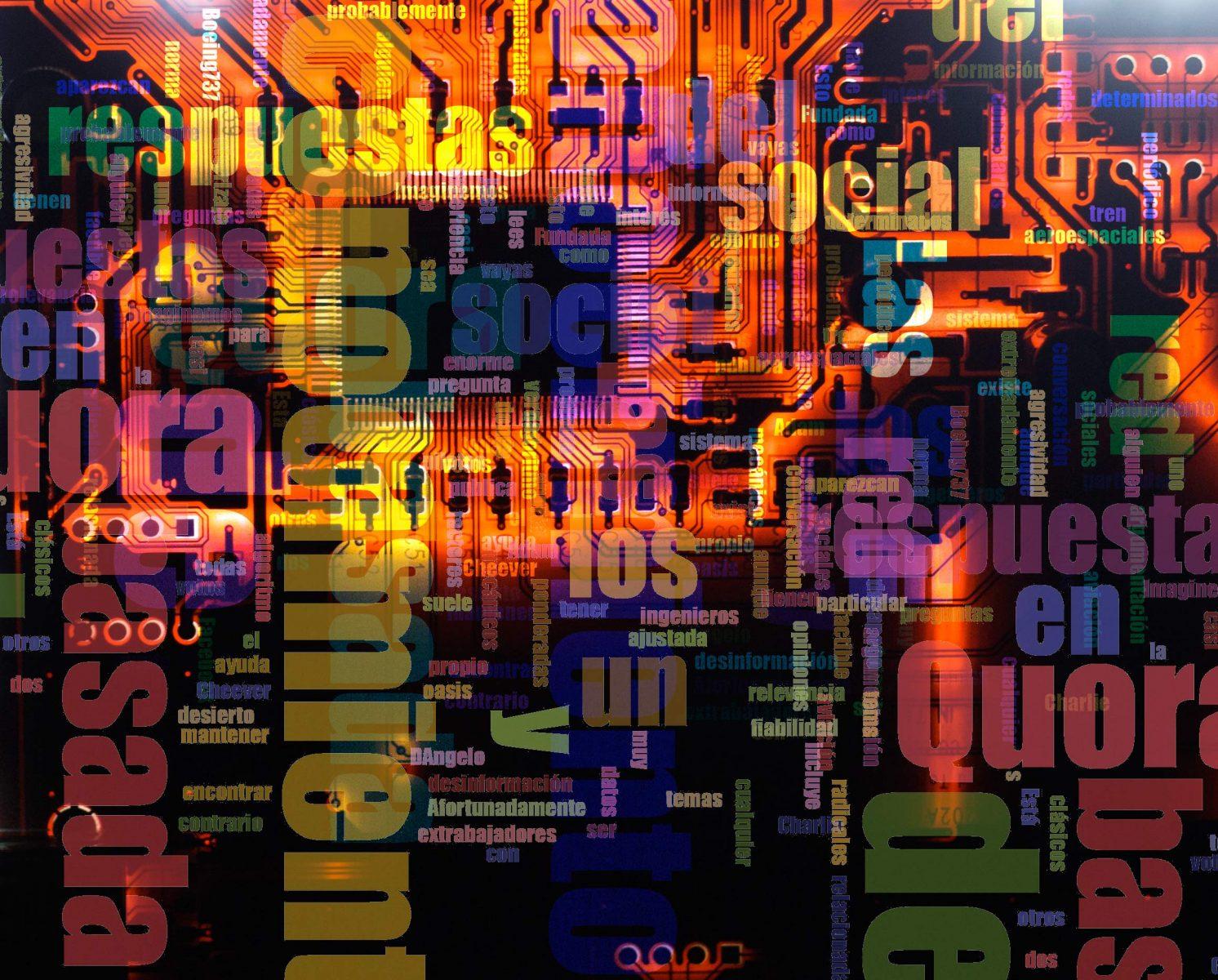 Quora, una red social basada en el conocimiento, importante para SEO. Compo letras por Sergi Albir, fotógrafo en Valencia