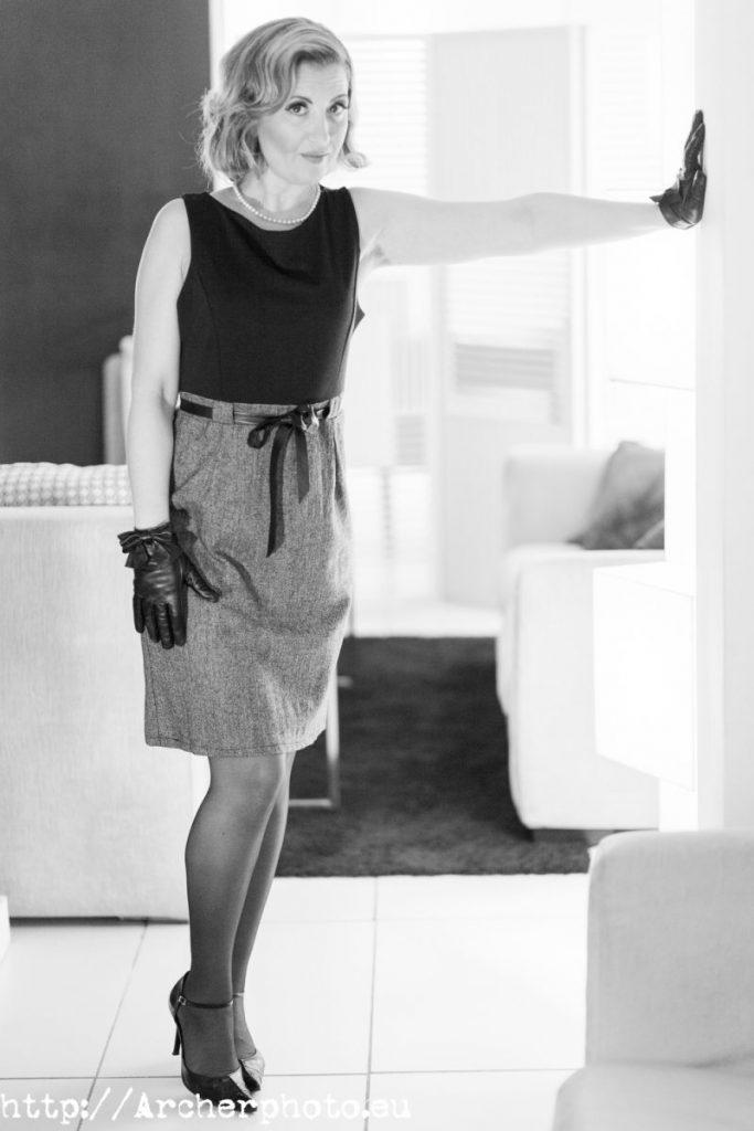María José en 2012: Sesión de fotos revisitada
