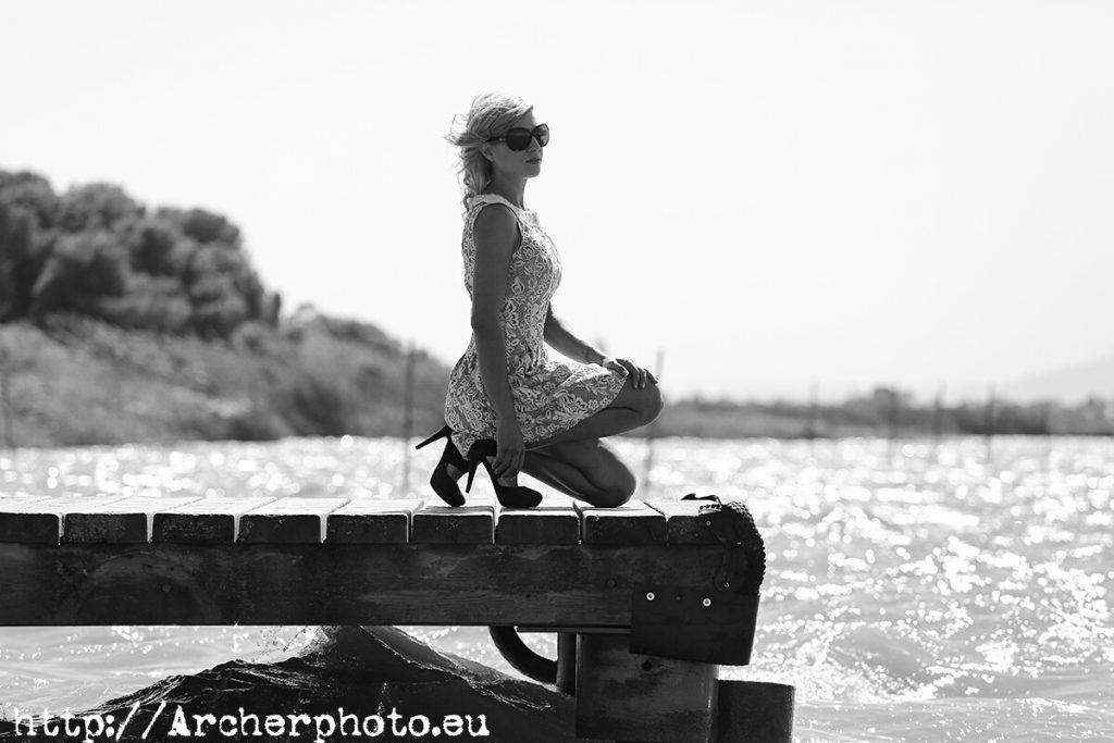 Ana, fotos de chicas en blanco y negro