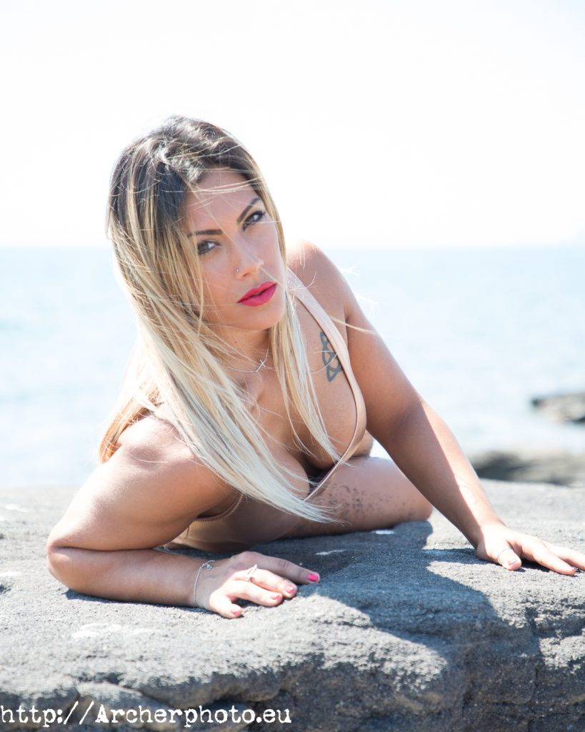 Lucía, sesión en verano de 2018, fotografos Valencia, Archerphoto, book en la playa