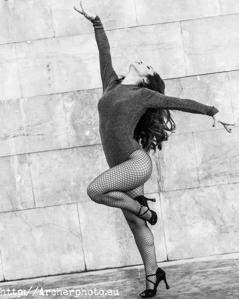 Fotografía de danza en Valencia, Andrea Vidaurre por Archerphoto, fotografo profesional