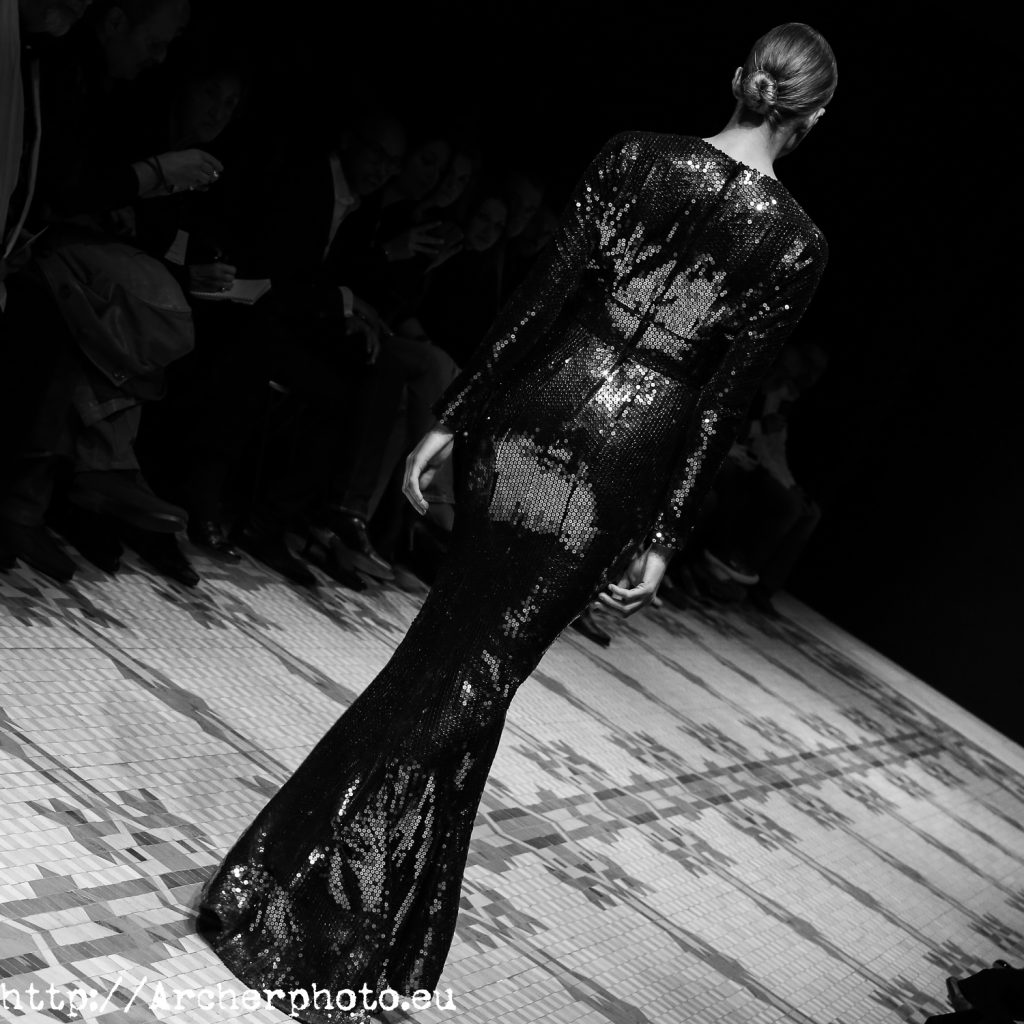 Una fotografía de la pasarela de Lucía Botella en febrero de 2013, por Archerphoto, fotografo Valencia, Semana de la Moda de Valencia (VFW) Otoño/Invierno 2013-2014