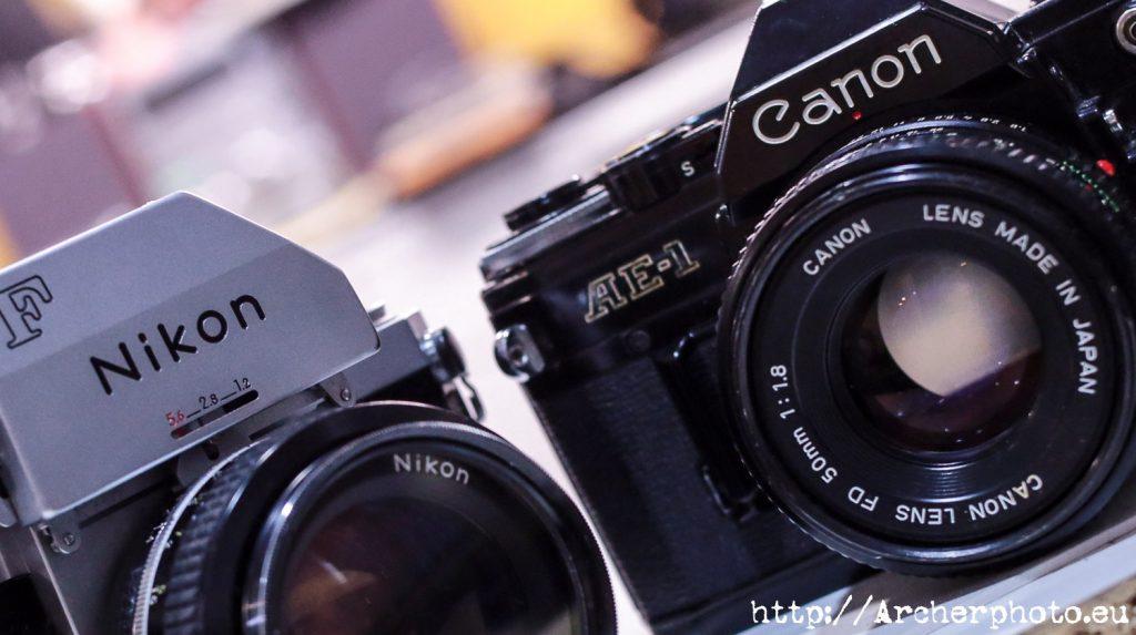 Canon, Nikon, Apple, Windows y los patos, impronta, psicología