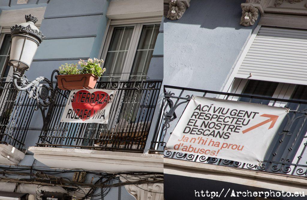 Comparativa entre las opiniones de los vecinos con respecto al turismo, Archerphoto, Valencia.