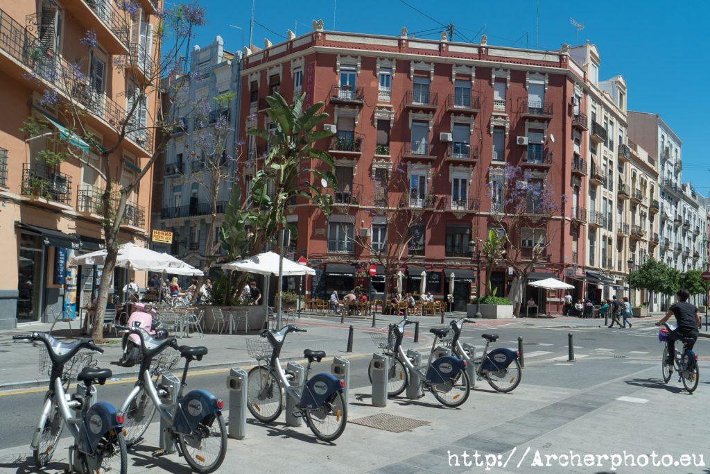 Fotografía Valencia, barrio de Ruzafa, o Russafa. Archerphoto.