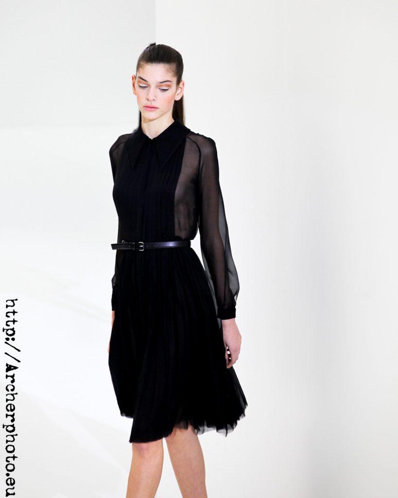 Marta Ortiz, ilustrando un artículo sobre agencias de modelos en París fotografía de Archerphoto