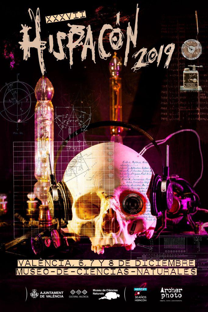Hispacón 2019: póster y material gráfico, por Archerphoto, fotógrafo profesional València.