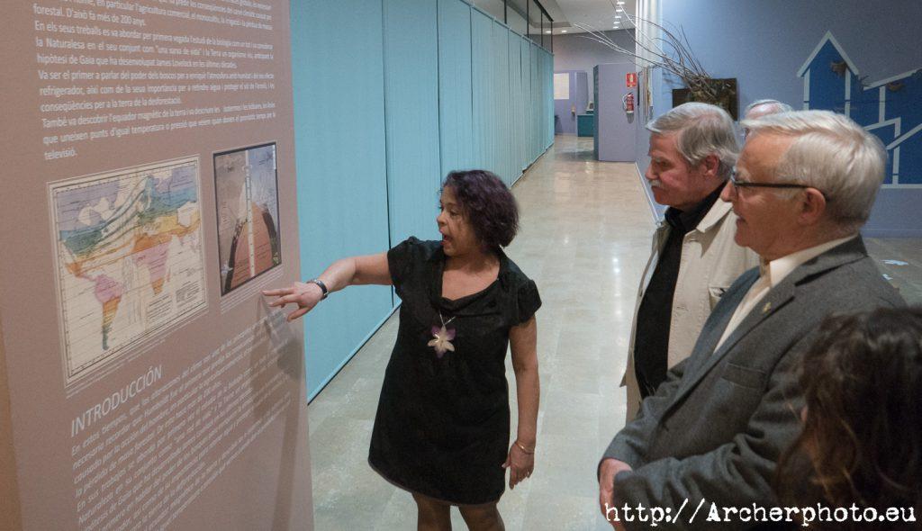 """exposición """" Alexander Von Humboldt: En la Naturaleza todo está conectado""""t en València, foto de Sergi Albir, Archerphoto"""