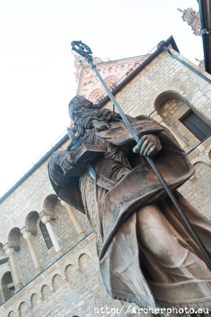San Bonifacio en Maguncia, fotografía de Archerphoto.