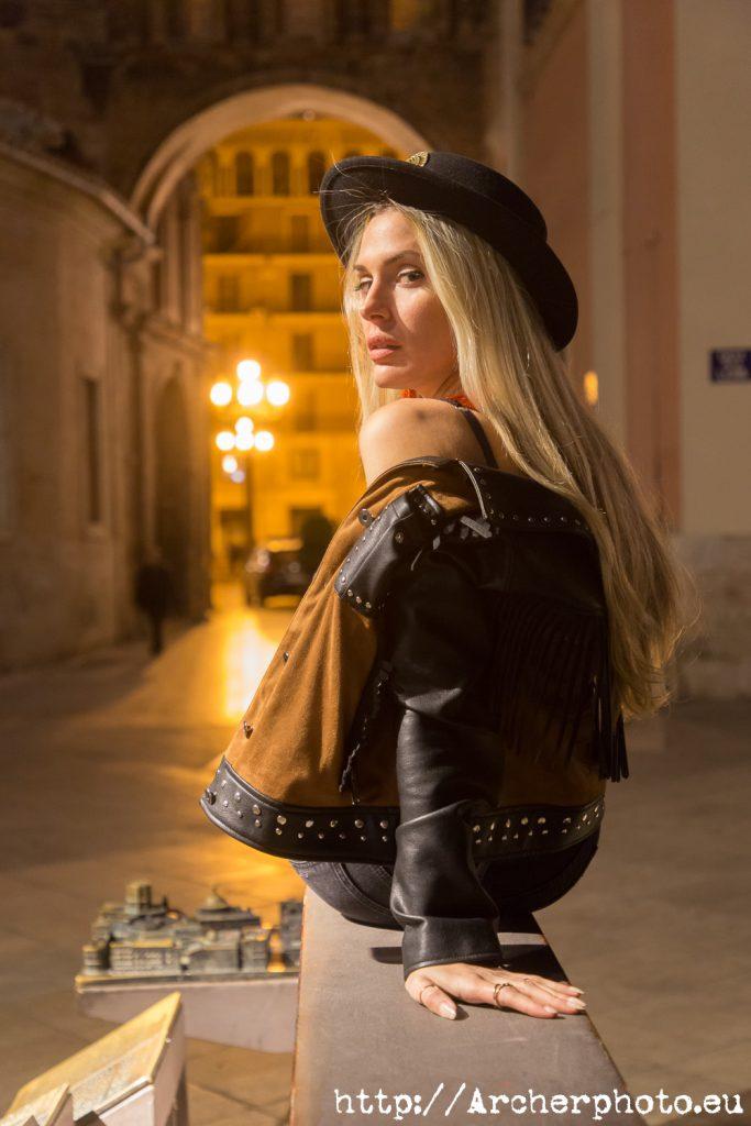 sesión de fotos con Paula Romarti en València, por Archerphoto