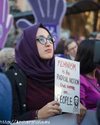 Día de la Mujer, Valencia, España, 2018,fotógrafo Valencia,manifestación