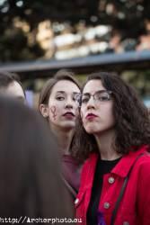 Día de la Mujer 2018 en Valencia, España,Fotografía: Archerphoto, fotografía en España