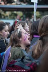 Día de la Mujer 2018 en Valencia, España,
