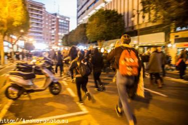Día de la Mujer 2018 en Valencia, España,Fotografía: Archerphoto,