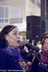 Día de la Mujer 2018 en Valencia, España,Fotografía: Archerphoto, reportaje gráfico