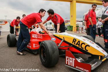 Formula 3, Cheste, 2007, by Archerphoto, professional photographer in Valencia