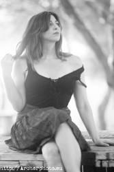 Retrato de Belén Riquelme en Valencia, actriz, por Archerphoto, fotografo profesional