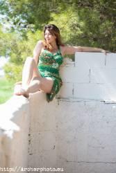 Retrato de Belén Riquelme en Valencia, actriz, por Archerphoto, fotógrafo books